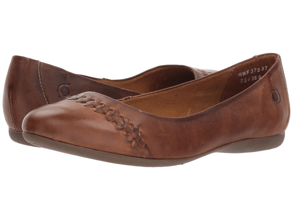 Born Madeleine (Light Tan Full Grain Leather) Flats