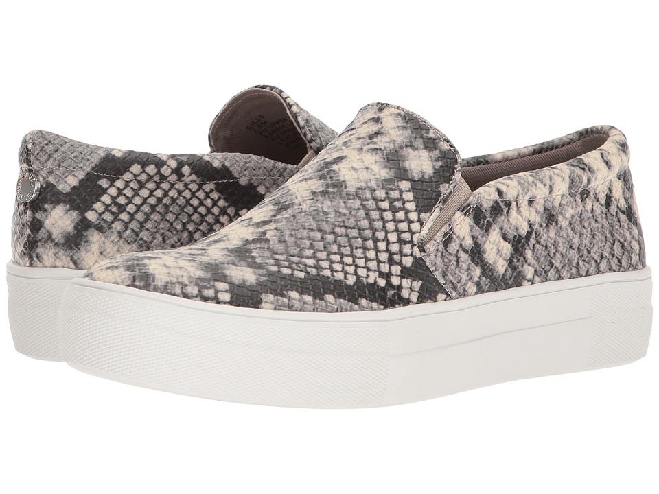 Steve Madden Gills Sneaker (Natural Snake) Women's Shoes