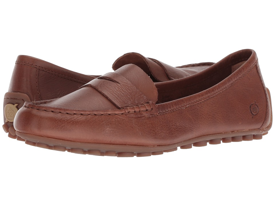 Born Malena (Light Brown Full Grain Leather) Flats