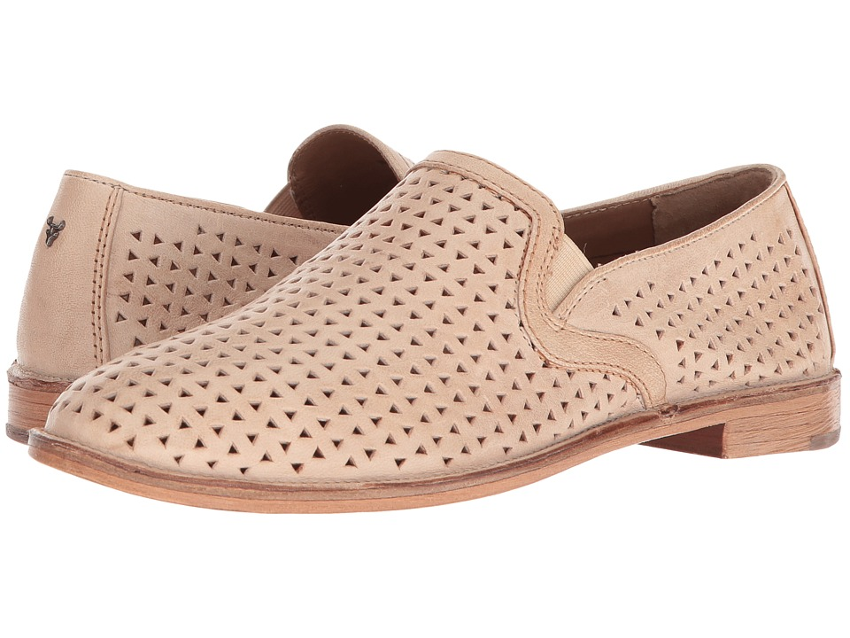 Trask Ali Perf (Cream Washed Sheepskin) Slip-On Shoes