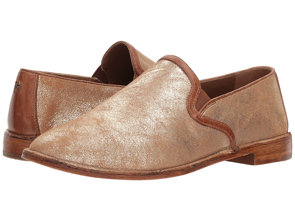 Trask Ali (Gold Metallic Sheepskin) Women's Shoes