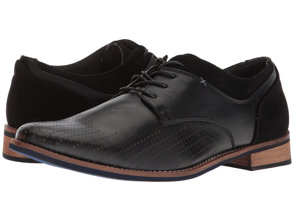 Deer Stags Calgary (Black Simulated Leather) Men