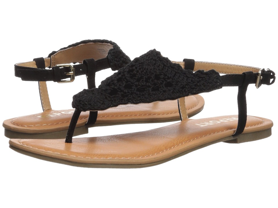 Report - Ginelle (Black) Womens Shoes