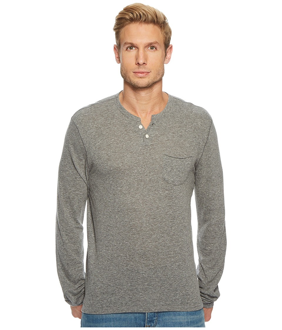 Joes Jeans - Wintz Long Sleeve Heather Jersey (Heather Grey) Mens T Shirt