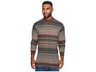 Publish Kole Mock Neck Vintage Stripe Long Sleeve Shirt