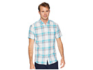 Tommy Jeans Tommy Jeans Check Linen Short Sleeve Button Down Shirt