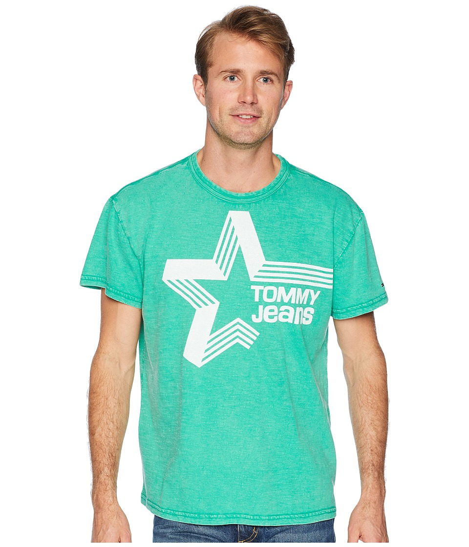 Tommy Jeans - Retro Star T-Shirt (Jelly Bean) Mens T Shirt