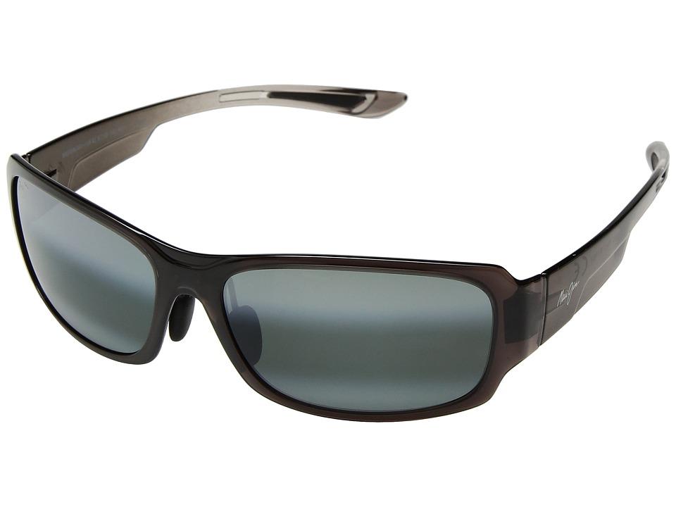 Maui Jim - Monkeypod (Grey Fade/Neutral Grey) Athletic Performance Sport Sunglasses
