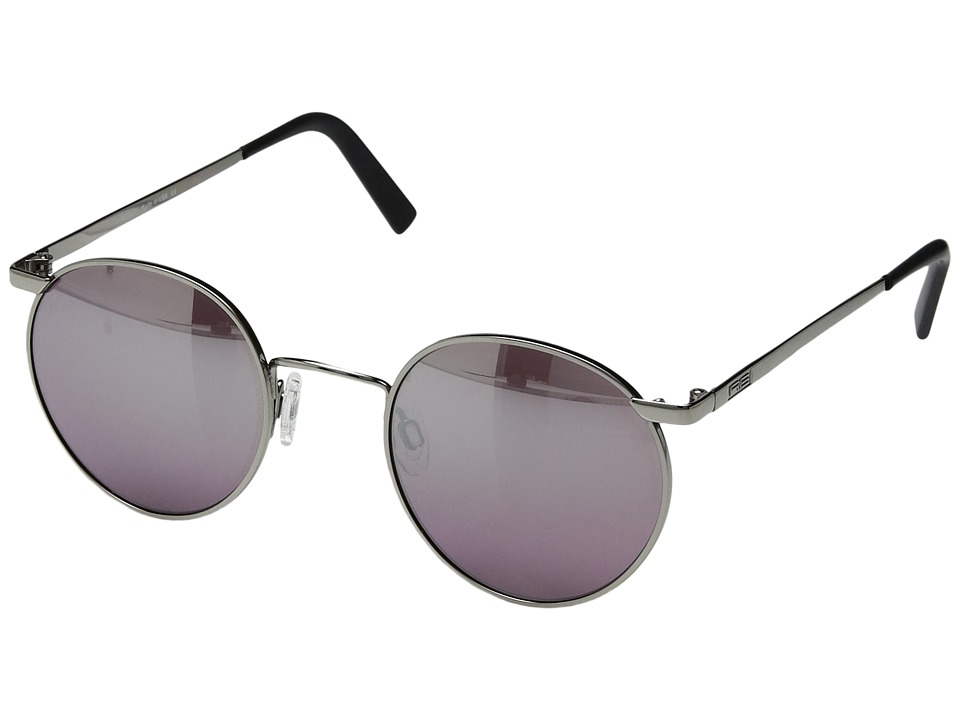 Randolph - P-3 49/23mm (Gunmetal/Midnight Metallic Nylon Anti-Reflective) Fashion Sunglasses