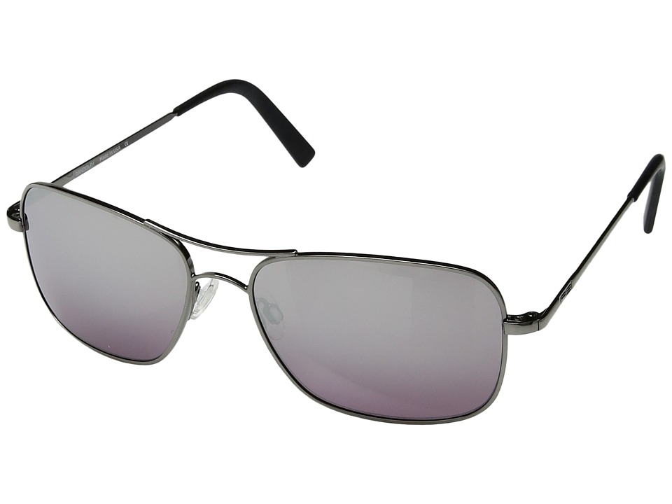 Randolph - Archer 59mm (Dark Ruthenium Polished/Midnight Metallic Nylon Anti-Reflective) Fashion Sunglasses