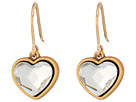 Alex and Ani Alex and Ani Crystal Heart Hook Earrings