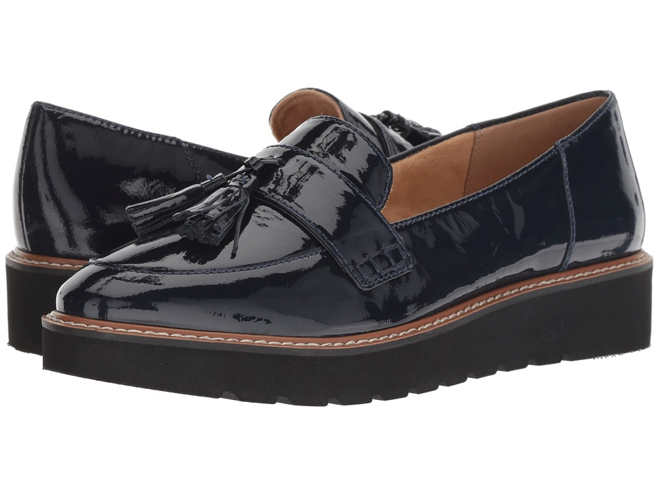 Naturalizer August (Inky Navy Patent) Slip-On Shoes