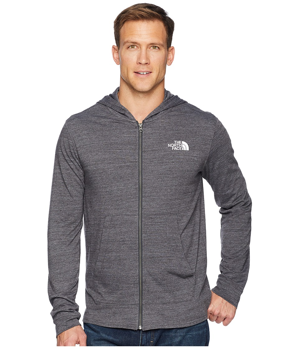 The North Face - Americana Full-Zip Hoodie (TNF Dark Grey Heather) Mens Sweatshirt