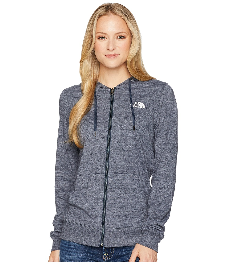 The North Face - Americana Full Zip Hoodie (Urban Navy Heather) Womens Sweatshirt