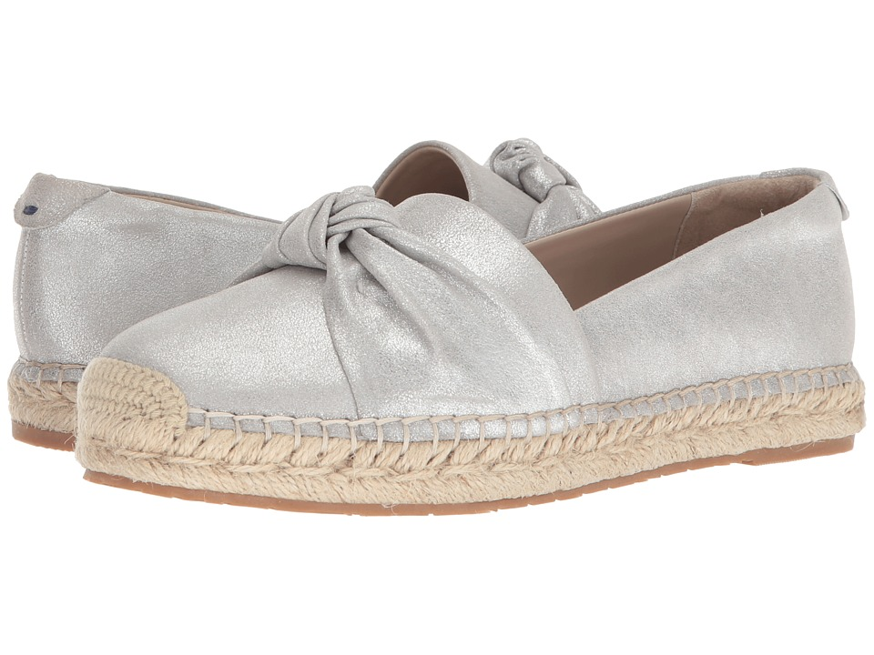 Tahari Harper (Silver Dusty Metal Leather) Slip-On Shoes