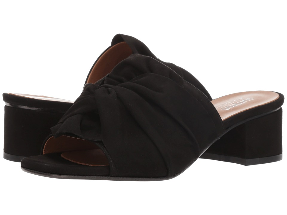 Summit by White Mountain Noelle (Black Suede) 1-2 inch heel Shoes