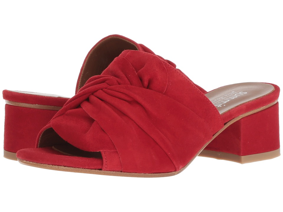Summit by White Mountain Noelle (Red Suede) Women