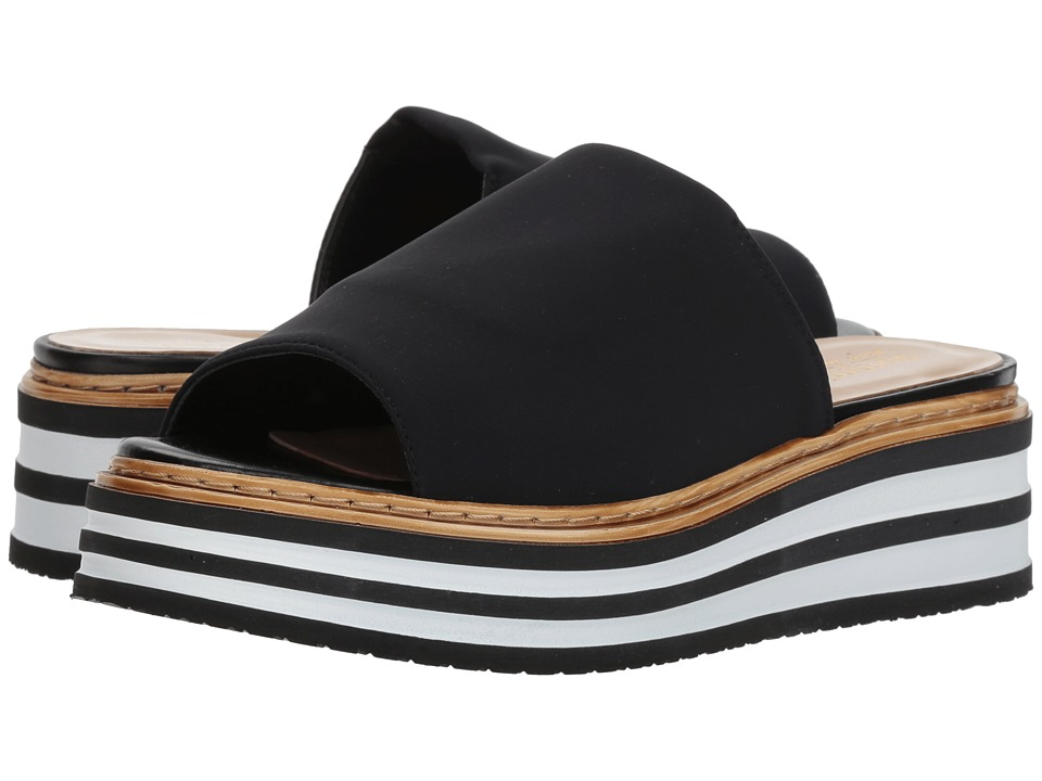 Summit by White Mountain Livvy (Black Fabric) Women