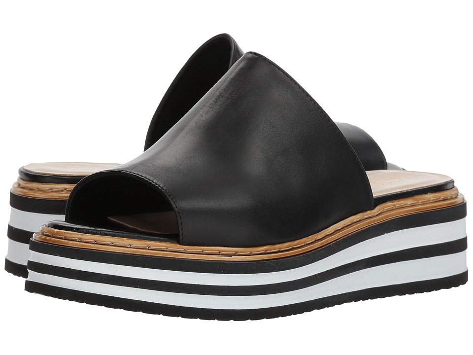 Summit by White Mountain Livvy (Black Leather) Women