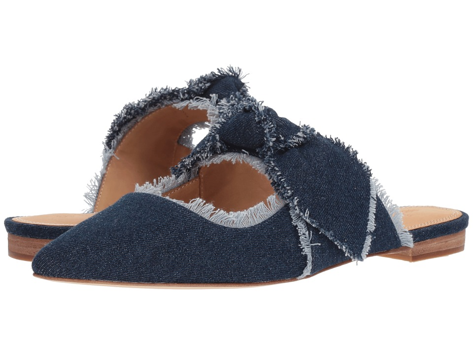 Bill Blass - Sabrina Slide (Dark Wash) Womens Shoes