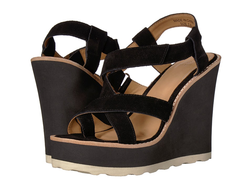 Bill Blass - Rae (Black) Womens Wedge Shoes