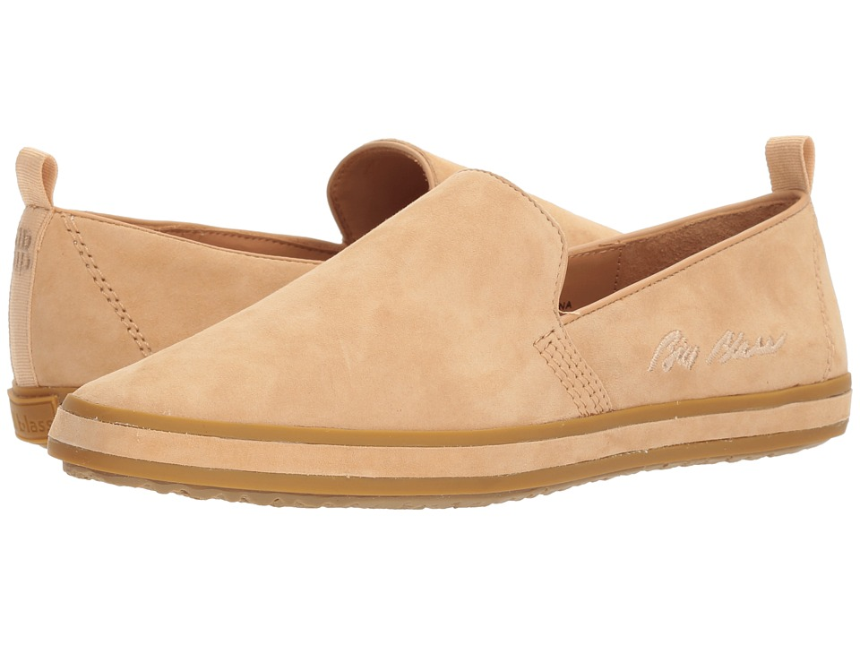 Bill Blass - Sutton Slip-On (Nude Suede) Womens Slip on  Shoes