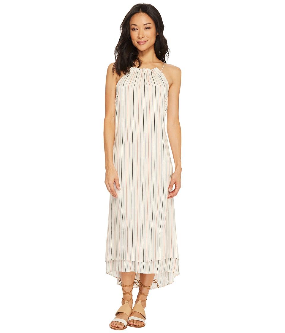 Tavik Lucca Maxi Dress (Horizon Stripe Infinity Blue) Wom...