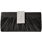Jessica McClintock Alaina Pleated Satin Clutch