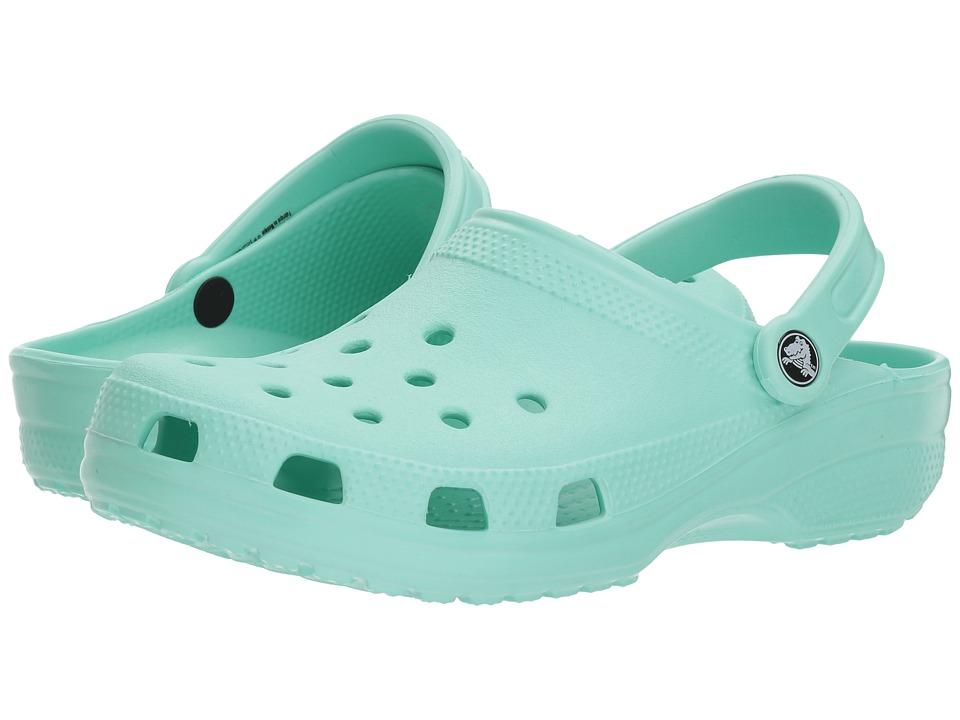 Crocs Classic Clog (New Mint) Clog Shoes