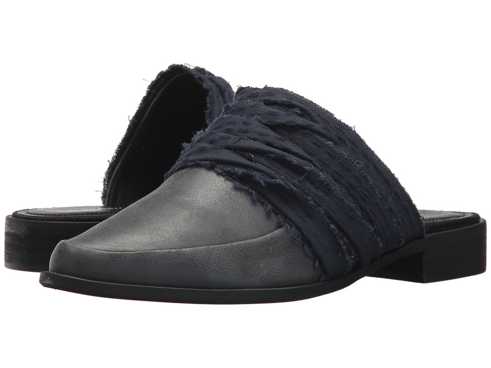 Kelsi Dagger Brooklyn - Alder Slide (Black/Navy) Womens Shoes