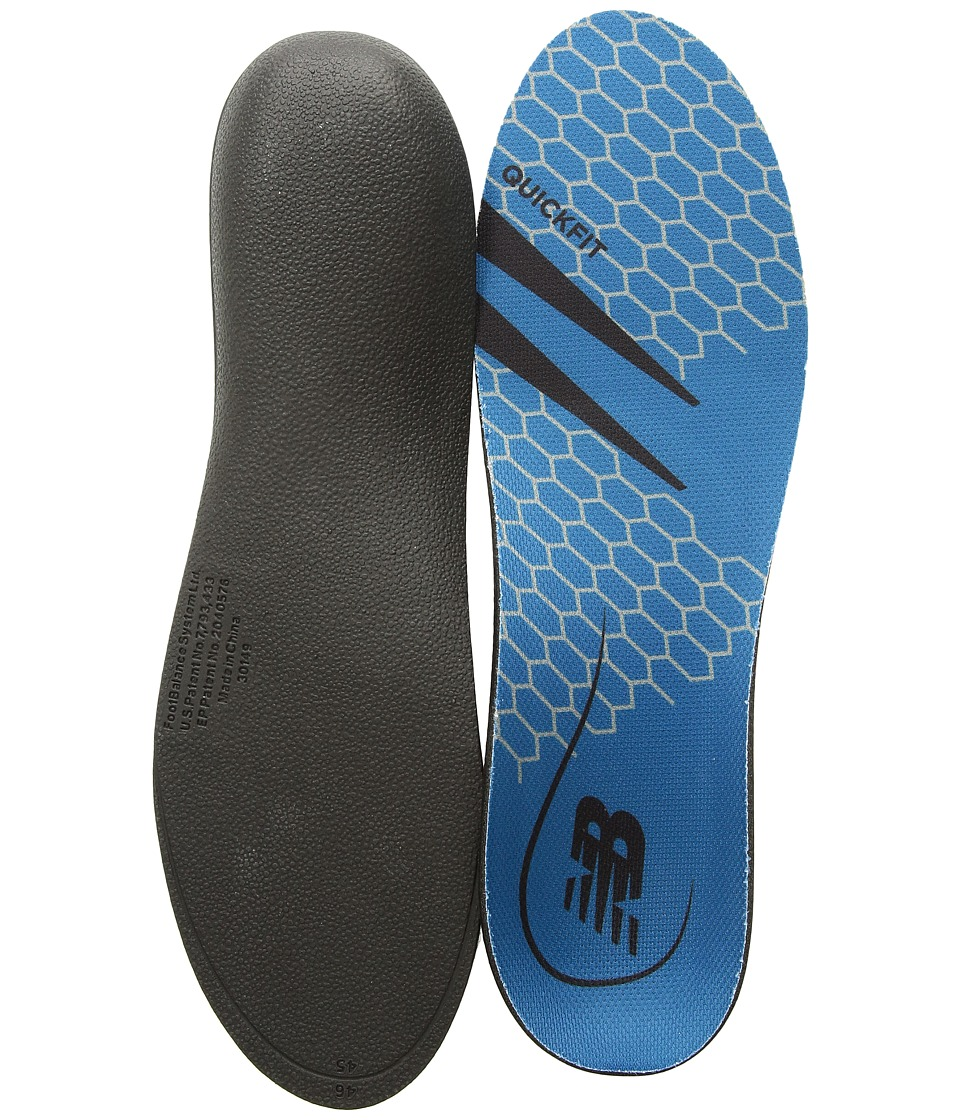 New Balance - QuickFit Mid-High Arch (Blue) Insoles Accessories Shoes