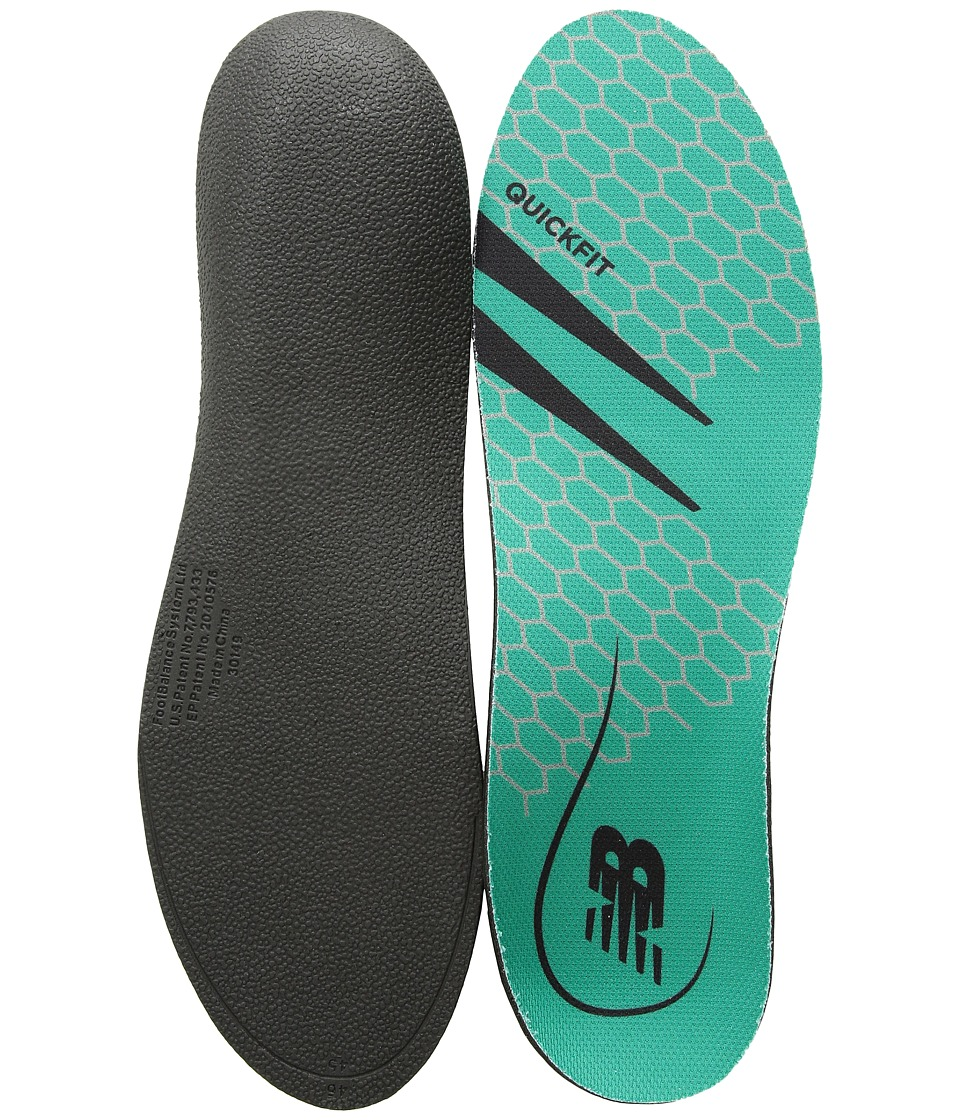 New Balance - QuickFit Low-Mid Arch (Green) Insoles Accessories Shoes