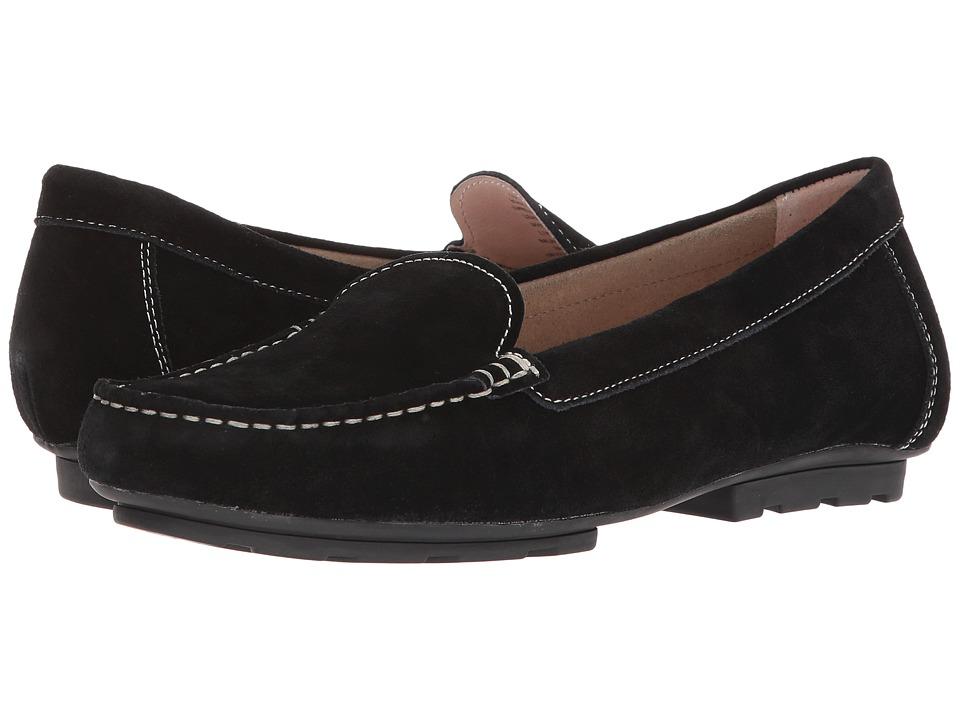 Blondo Dale Waterproof Loafer (Black Suede) Women's Shoes