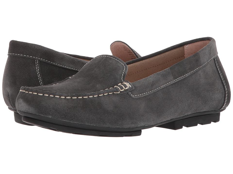 Blondo Dale Waterproof Loafer (Dark Grey Suede) Women's Shoes