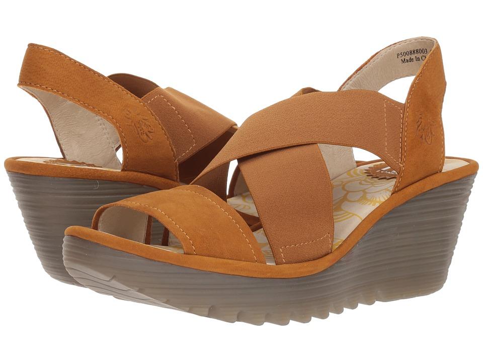 FLY LONDON YAJI888FLY (Honey Cupido) Women's Shoes