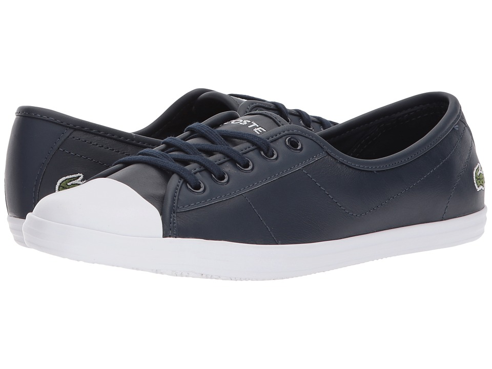Lacoste - Ziane BL 1 (Navy) Womens Shoes
