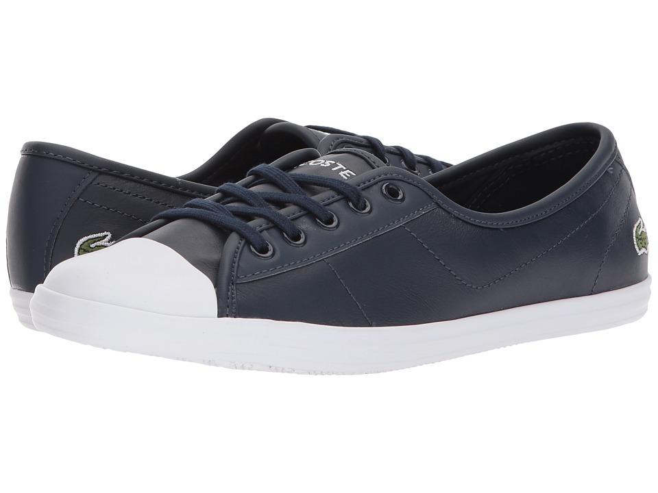 Lacoste Ziane BL 1 (Navy) Women's Shoes