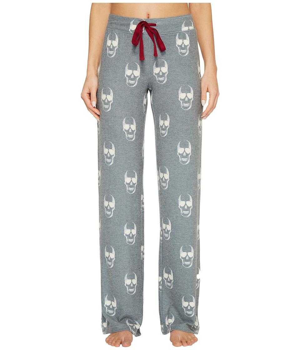 P.J. Salvage - Love You To Death Pants (Charcoal) Womens Pajama