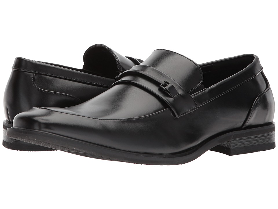 Kenneth Cole Reaction - Settle Loafer (Black) Mens Slip on  Shoes