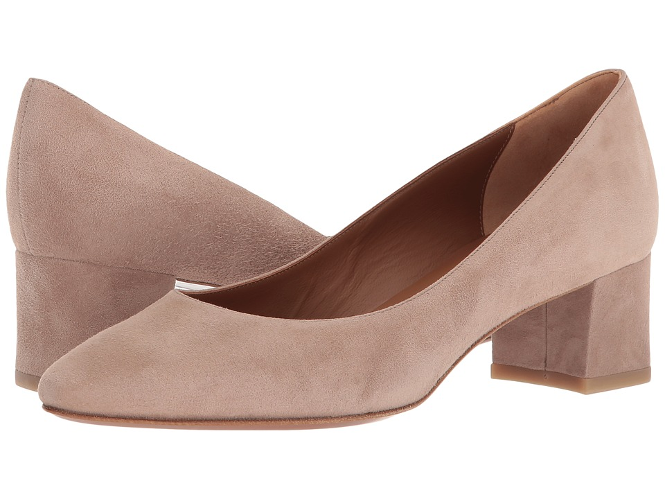 Aquatalia - Pheobe (Nude Suede) Womens 1-2 inch heel Shoes