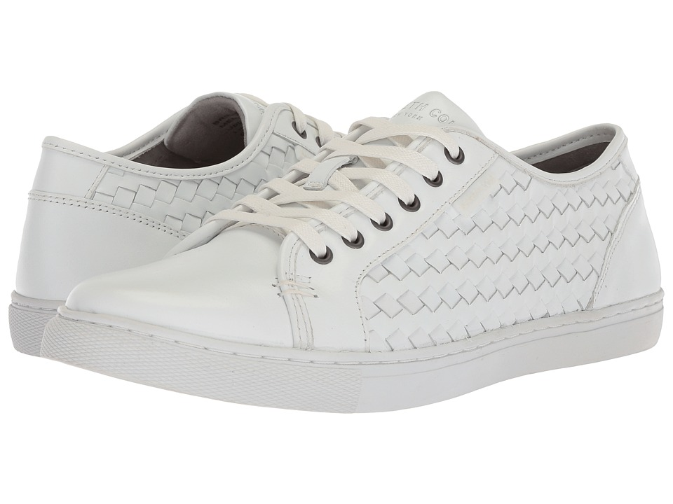 Kenneth Cole New York - Bring About (White) Mens Lace up casual Shoes