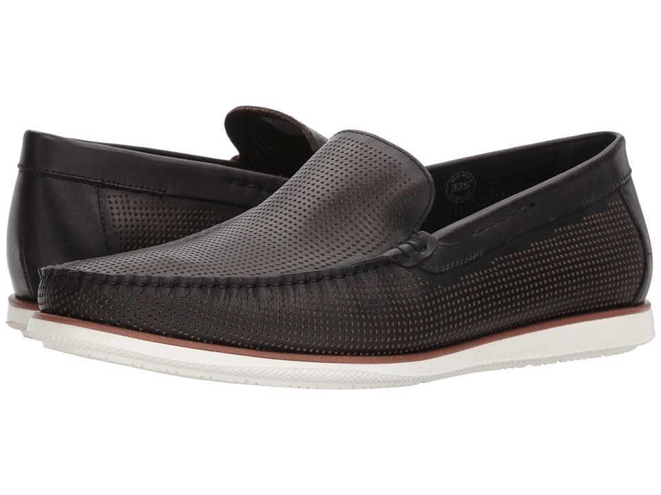 Kenneth Cole New York - Cyrus Slip-On (Black) Mens Slip on  Shoes