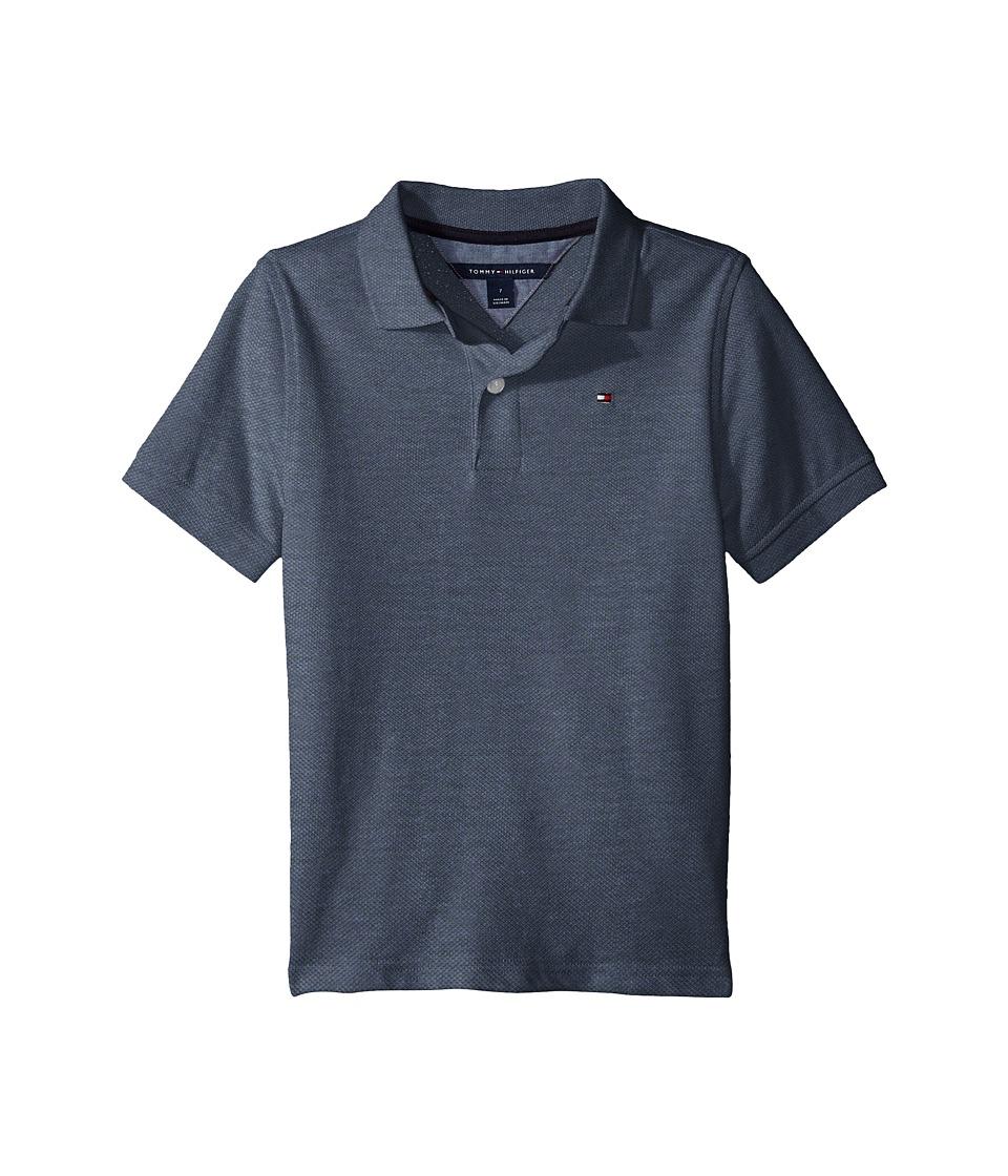 Tommy Hilfiger Kids - Space Polo Shirt (Toddler/Little Kids) (Estate Blue) Boys Clothing