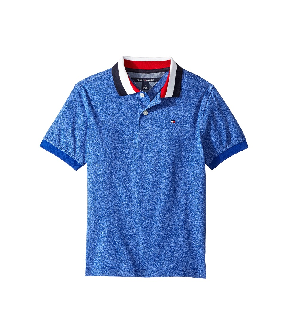 Tommy Hilfiger Kids - Twisted Polo (Toddler/Little Kids) (Surf the Web) Boys Clothing