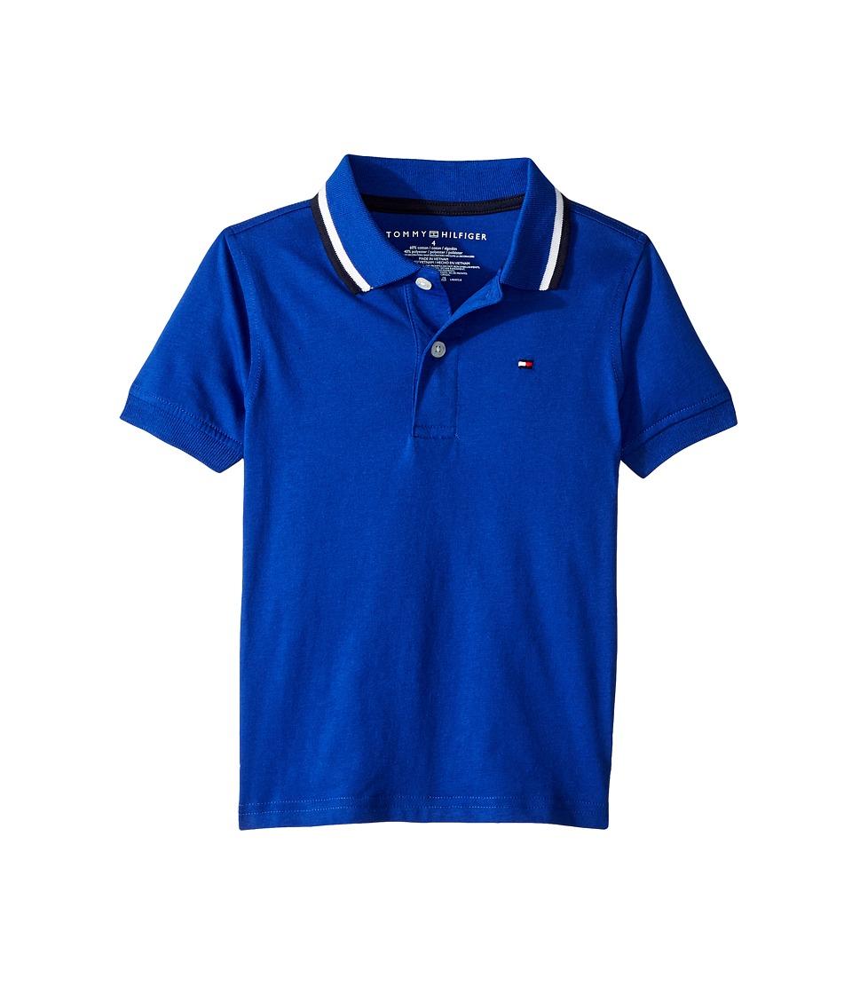 Tommy Hilfiger Kids - James Polo (Toddler/Little Kids) (Surf the Web) Boys Clothing