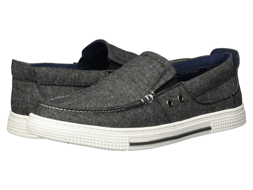 Kenneth Cole Reaction - Ankir Slip-On (Grey) Mens Slip on  Shoes