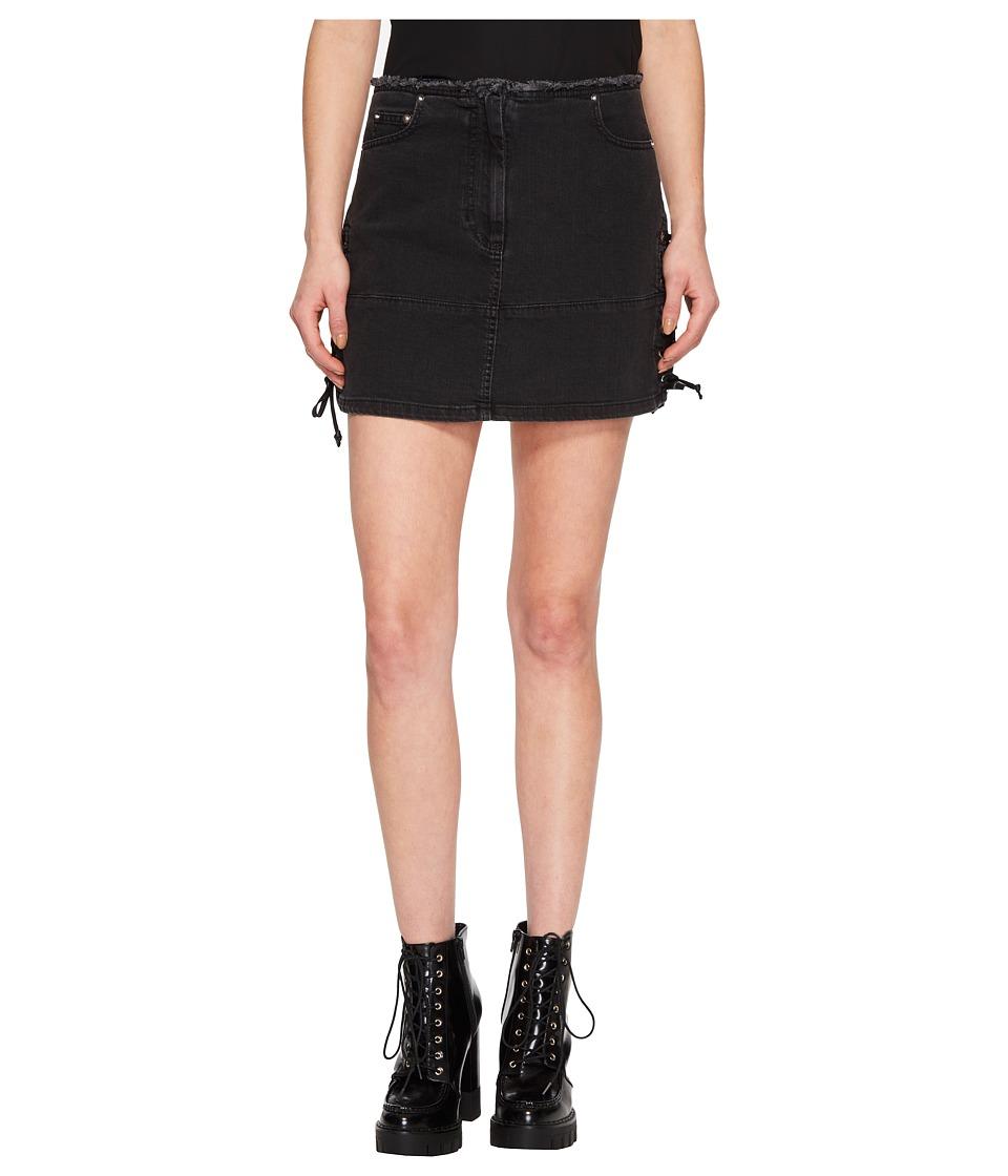 McQ - Laced Mini Skirt (Black) Womens Skirt