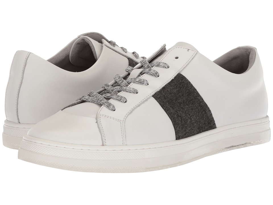 Kenneth Cole New York - Colvin Sneaker B (White) Mens Lace up casual Shoes