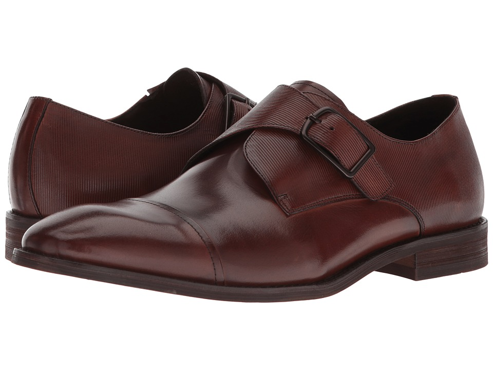 Kenneth Cole New York - Courage Monk (Cognac) Mens Shoes