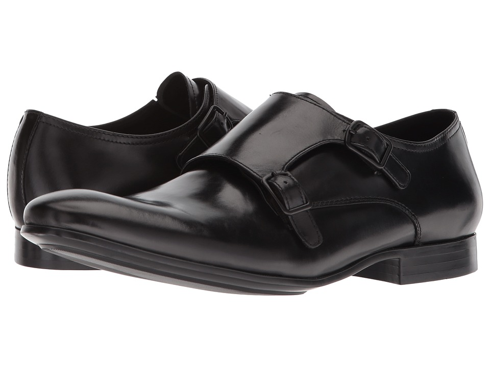 Kenneth Cole New York - Mix Monk (Black) Mens Shoes